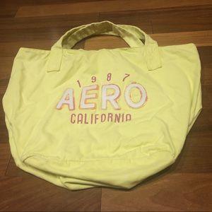 Large neon Aeropostale tote bag!
